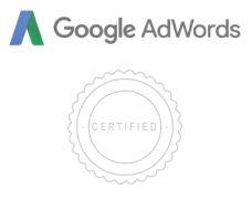 Ik heb mijn Adwords Search Certificering